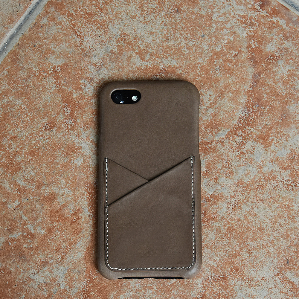 Premium full Grain Leather Back Cover slim