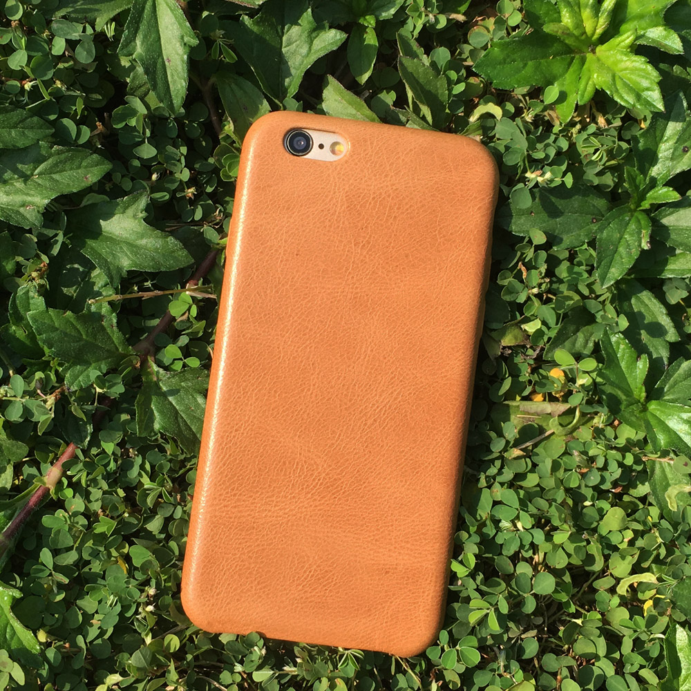 Handmade original iphone 6s custom leather phone cases