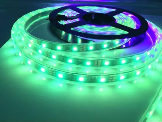 1M XT1511智能LED Pixell条,30/60/74/96/144 LID。IP20/IP65/IP68 XT1511-5050RGB LED DC5V。