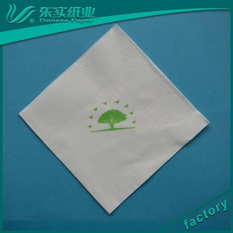 工厂批发定制徽标打印鸡尾酒纸餐巾纸
