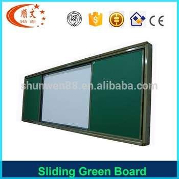 办公室及学校用品家具学校滑动白板和绿板磁性粉笔板