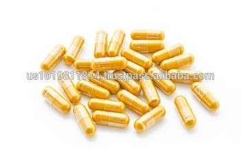 最佳草药营养补充品/姜黄姜黄胶囊