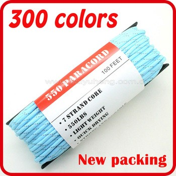 彩色高强度尼龙编织绳