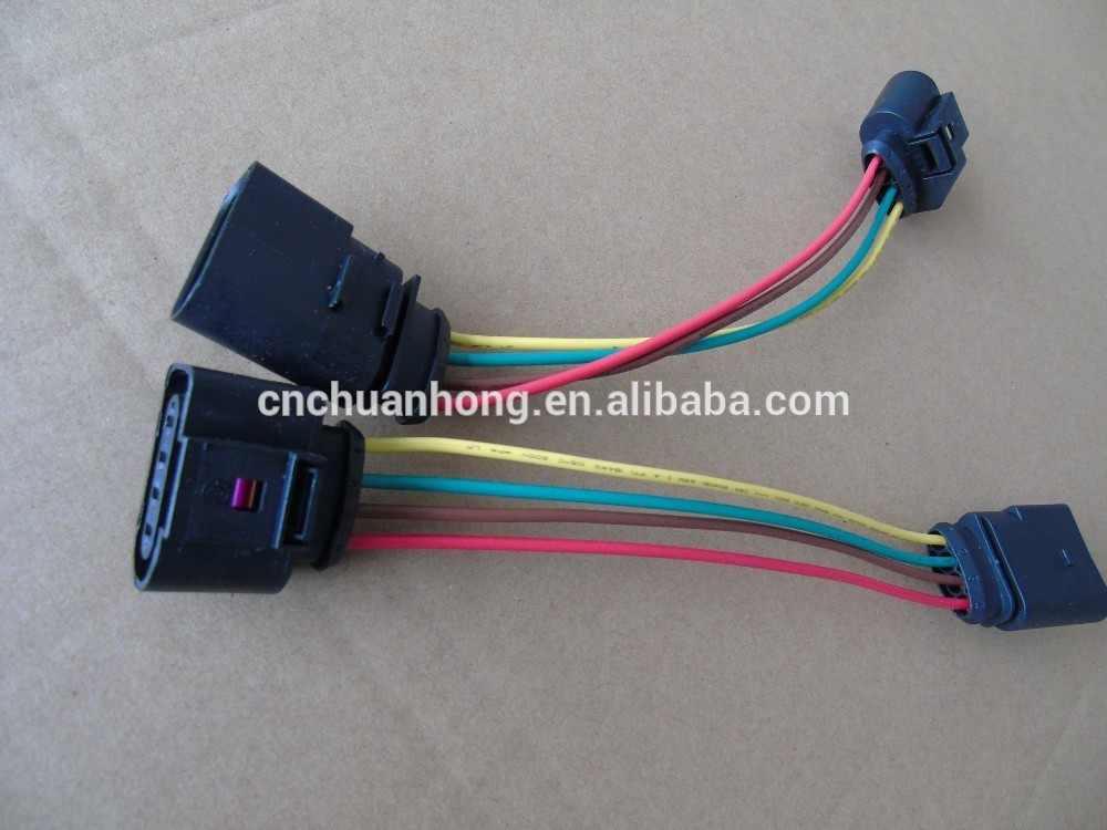 automotive wiring harness the sensor plug wires 4 pin waterproof connectors