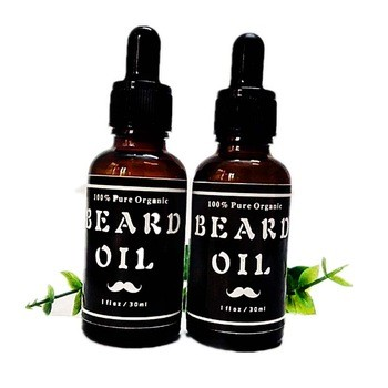 Organic Beard Oil 100% Pure  Natural Unscented Best for Groomed Beard Growth and Skin