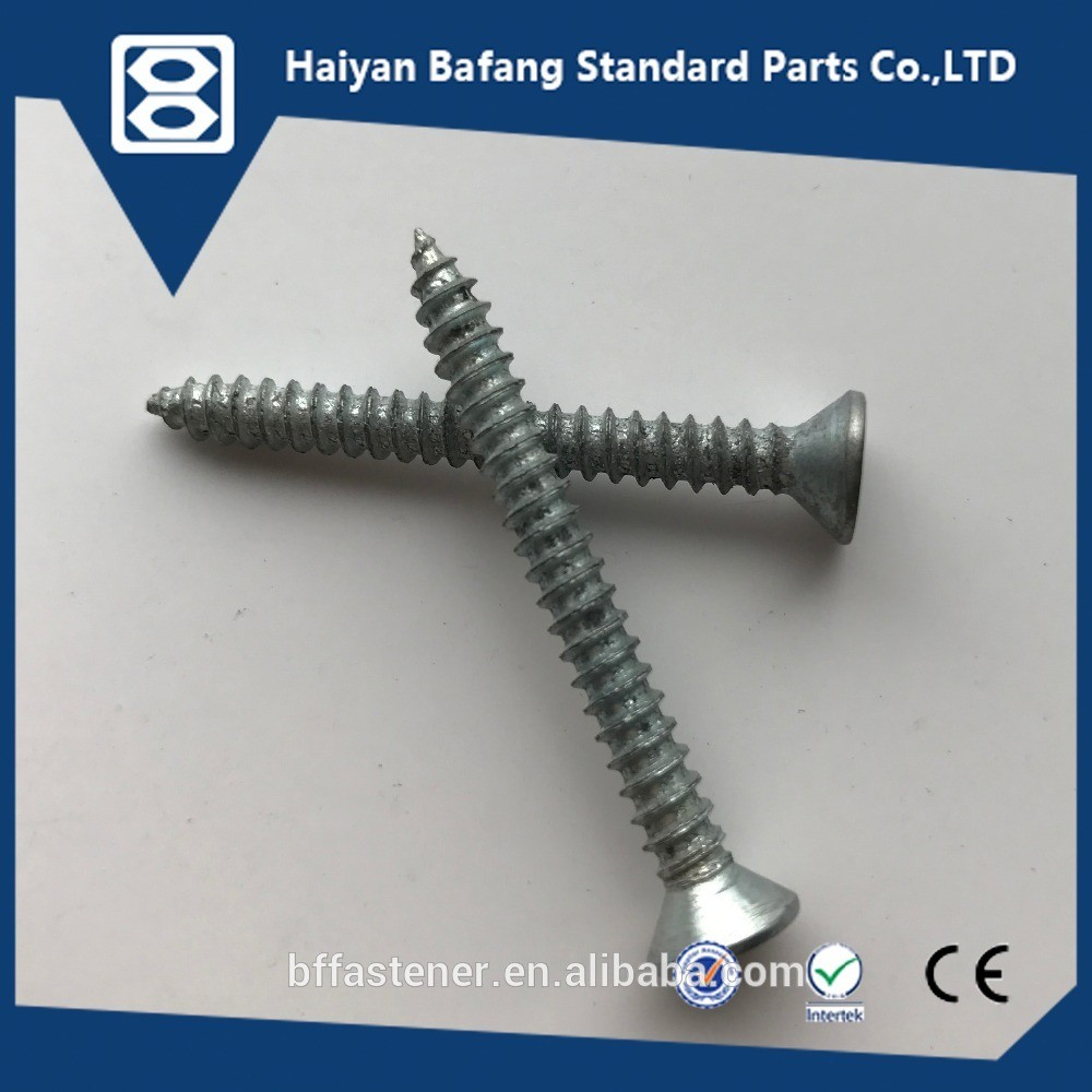 Chinese supplier hardware low price with DIN 7982 screws fasteners