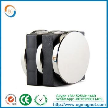 D25 x 5mm厚度的N52钕磁体稀土烧结盘钕磁体轴向