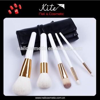 热时尚白色便携式批发最便宜的化妆刷出厂价格