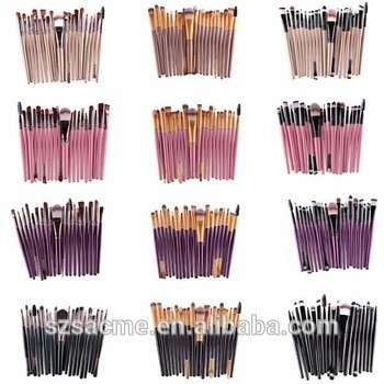 Professional Cosmetic Makeup Tool Brush Brushes Set Powder Eyeshadow Blush kit 20pcs