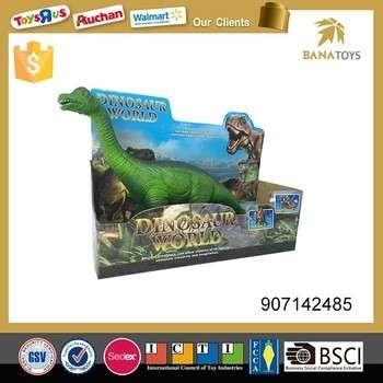 可爱的3D飞龙模型软橡胶恐龙玩具