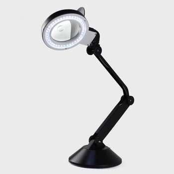 40 LED Folding Magnifying Glass Lamp,magnifying Loupe Lamp