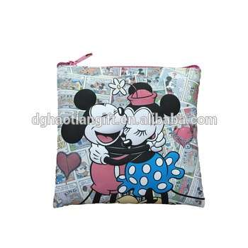 Micky Mouse waterproof silicone coin purse for christmas holiday gift