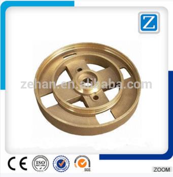 qzm-57精密热锻黄铜数控加工零件