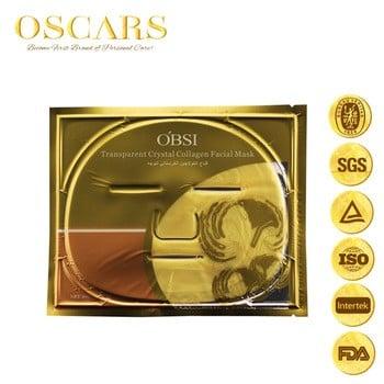 金牌供应商CE 100%有机护肤抗衰老的24K黄金面膜