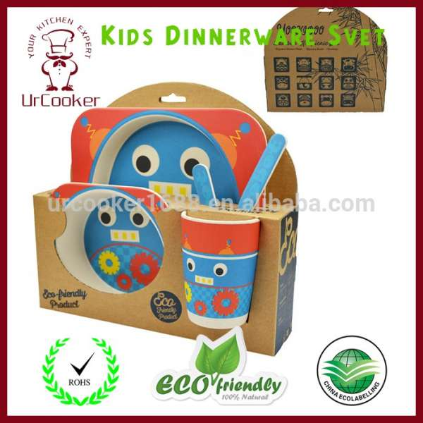 sc 1 st  eWorldTrade & Eco-friendly Kids Dinnerware Set Children Bowl And Plates Tableware Set