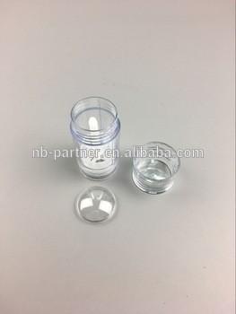 免费样品30g 50g 75g塑料除臭剂空圆形唇膏管棒容器