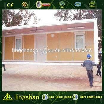 20ft或40ft平板集装箱房屋与ISO认证