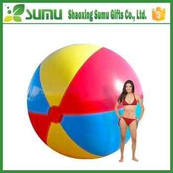 最新设计顶级充气巨型环球沙滩球