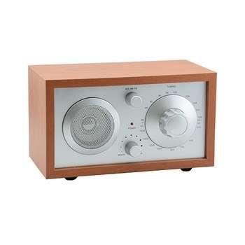 木制风格的家庭便携式最好的复古收音机