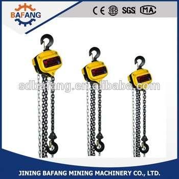 Hand Chain Hoist/Manual Crane Hoist/Chain Block