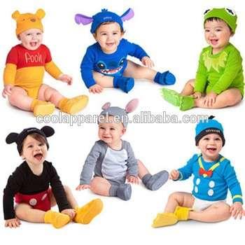 长sleeeve卡通贸易保证婴儿幼儿服装