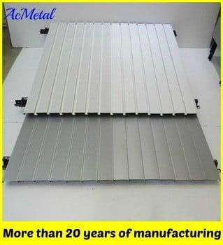 铝条天花板100毫米模块