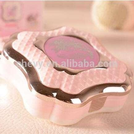 2016新到来可爱设计弥补粉状蛋糕盒适合眼睛和面部化妆女士的日常美容质量最好的OEM