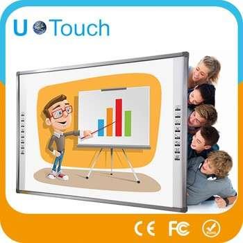 USB连接82寸宽频交互式电子白板教育软件