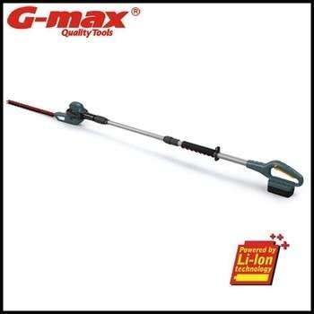 G-max园林工具18V的无绳长杆绿篱机gt34006