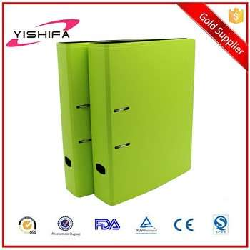 A4 size or Customized PP Foam Eco-friendly Lever Arch File