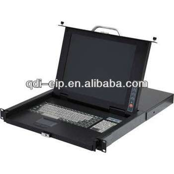 """超薄15""""触摸屏LCD KVM切换器"""