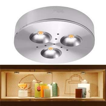 DC12V high quality 3W Aluminum LED Cabinet Light