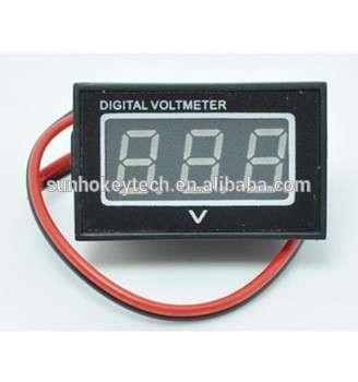 出厂价格高质量LED数码管0.4寸电压显示两线数字电压表防水/防尘