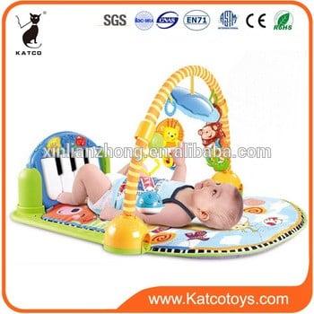 热售kickplay婴儿游戏垫与钢琴键盘和健身房