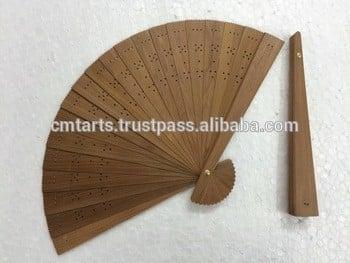 Sandalwood Hand Fan