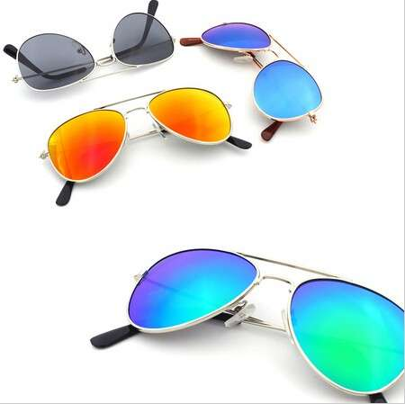 Kid's Mirror Coating Sunglasses Girls Boys Children Sun