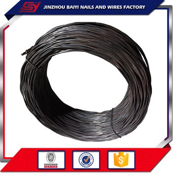 12 gauge black annealed wire/BWG galvanized wire
