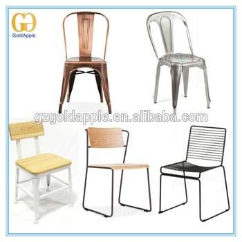 Amazing Commercial Vintage Industrial Metal Frame Dining Chair Unemploymentrelief Wooden Chair Designs For Living Room Unemploymentrelieforg