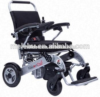 高质量残疾人用折叠式轻便电动轮椅