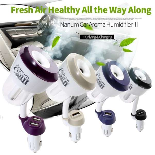 Nanum Car USB Air Humidifier Essencial oil Aromatherapy Aroma diffuser