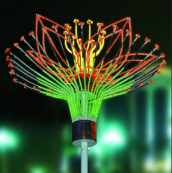 Artificial christmas outdoor LED Firework Lights BW-SR3