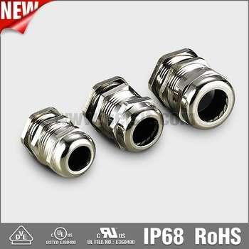 IP68防水金属电缆接头