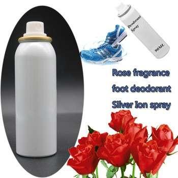 抗菌除臭玫瑰香银离子除臭喷剂