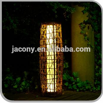 太阳能柳条落地灯25个LED(jl-2215)