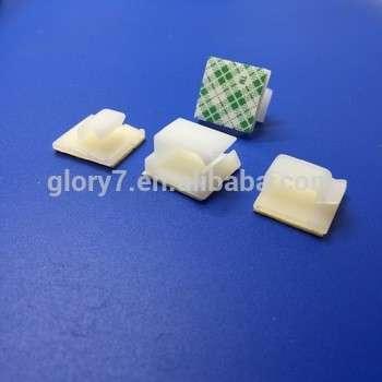 WCL 3M自胶线夹,线夹尼龙塑料胶粘接头安装线鞍侧入口