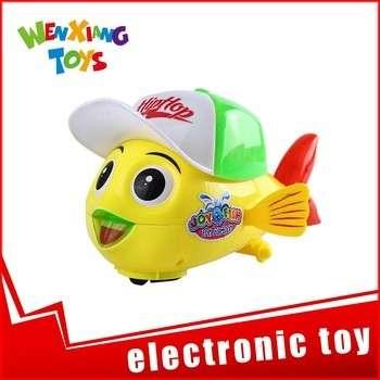 批发电子小塑料鱼宠物玩具低价
