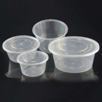 Microwavable PP Container with lid for Plastic food packaging