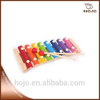 木8注意儿童教育玩具便携式音乐玩具婴儿2木槌木琴