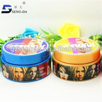 批发的私营标签颜色头发的女性头发蜡泥