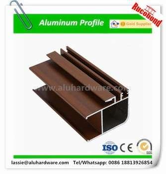 在中国铝型材推拉窗、推拉门型材制成的